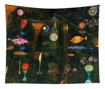 Fish Magic Tapestry