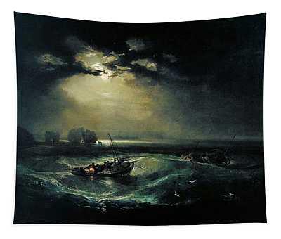 Fishermen At Sea 1796  Tapestry