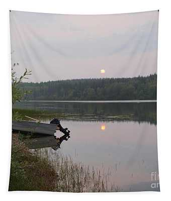 Fishing Tranquility Tapestry