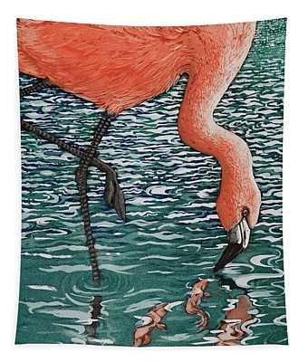 Flamenco Flamenco, 2013, (etching/aquatint) Tapestry