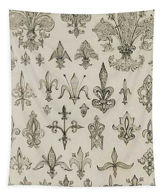 Fleur De Lys Designs From Every Age And From All Around The World Tapestry