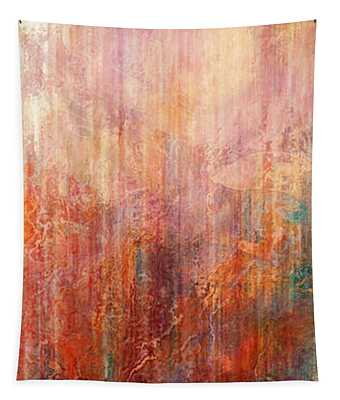 Flight Home - Abstract Art Tapestry