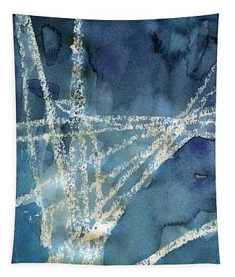 Flight Path- Abstract Painting Tapestry