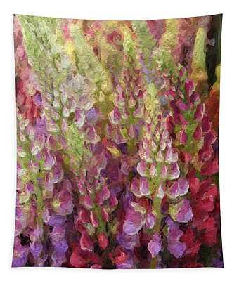 Flower Garden Tapestry