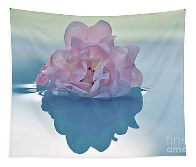 Flower On Water Tapestry