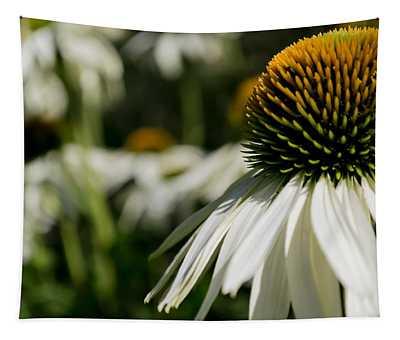 Flowers - Echinacea White Swan Tapestry