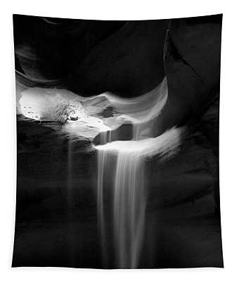 Flowing Sand In Antelope Canyon Tapestry