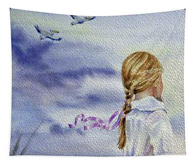 Fly With Us Tapestry