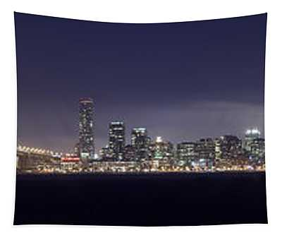 Fog City San Francisco Tapestry