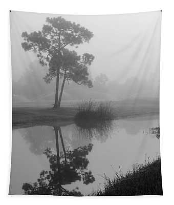 Foggy Morning 2 Tapestry