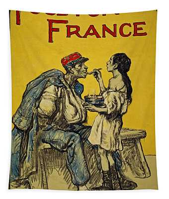 Food For France, 1918 Tapestry
