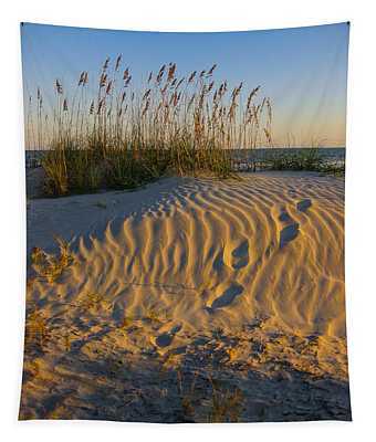 Footprints Tapestry