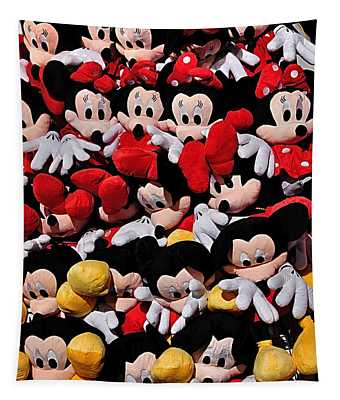 For The Mickey Mouse Lovers Tapestry