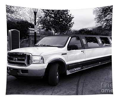 Ford Excursion Stretched Limo Tapestry