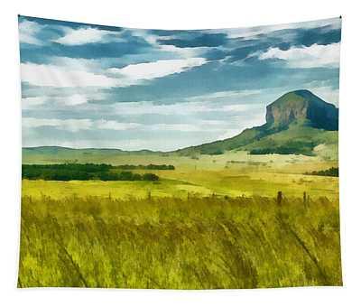 Forgotten Fields Tapestry