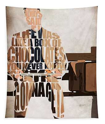 Forrest Gump - Tom Hanks Tapestry