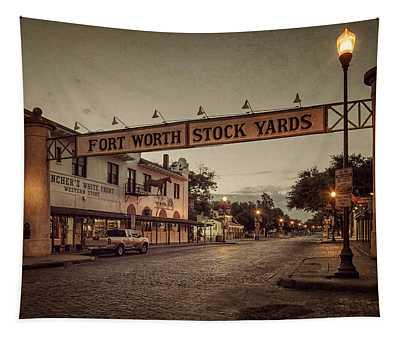 Fort Worth Stockyards Tapestry