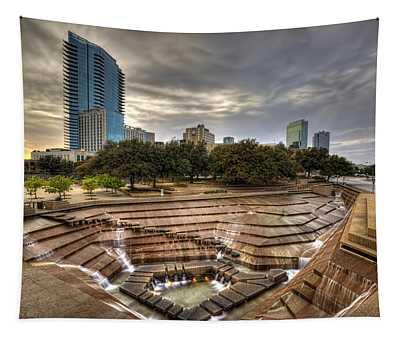 Fort Worth Water Garden Tapestry