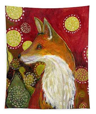 Fox Listens Tapestry