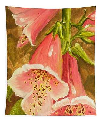 Foxy Foxglove Of Williamsburg Tapestry
