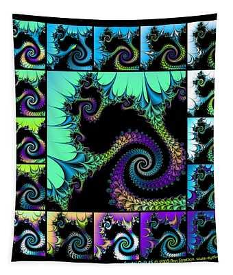 Fractal Quilt 5  Tapestry