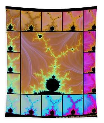 Fractal Quilt 6  Tapestry