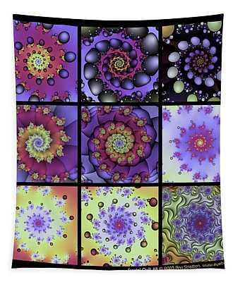 Fractal Quilt 8  Tapestry