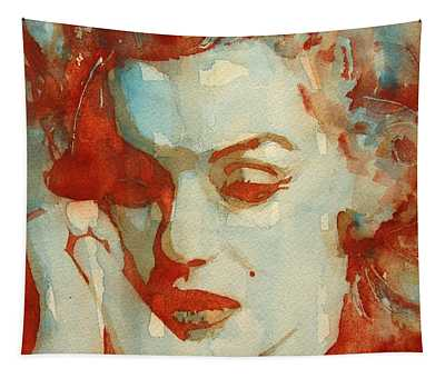 Red Lips Tapestries