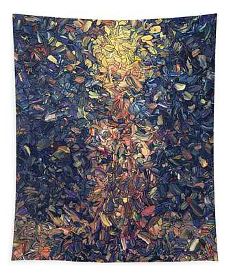 Fragmented Flame Tapestry