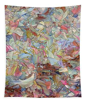 Fragmented Hill - Square Tapestry