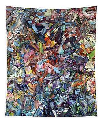 Fragmenting Heart Tapestry