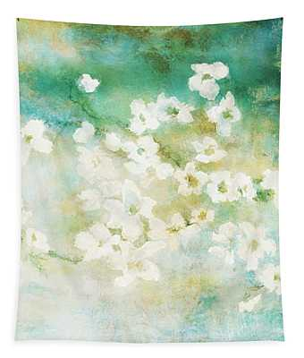 Fragrant Waters - Abstract Art Tapestry