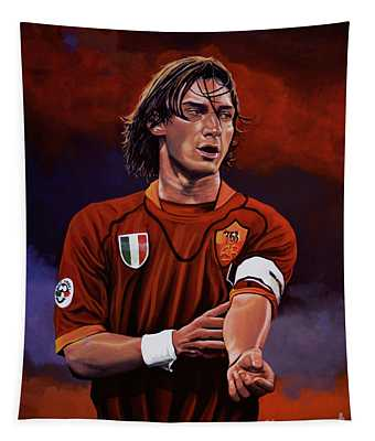 Francesco Totti Tapestry