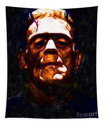 Frankenstein - Abstract Tapestry