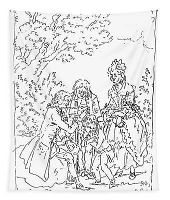 Franklin & Voltaire Tapestry