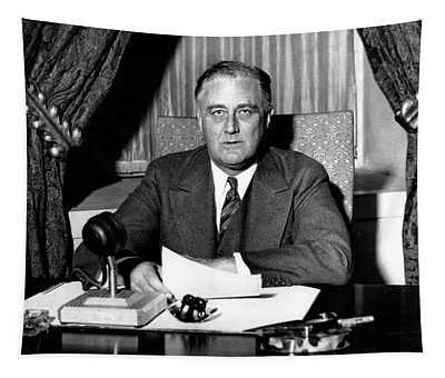 Franklin Delano Roosevelt Tapestry