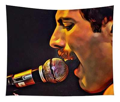 Freddie Mercury Series 2 Tapestry