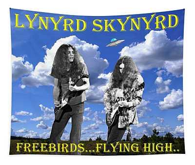 Freebirds Flying High Tapestry