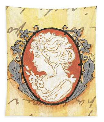 French Cameo 2 Tapestry