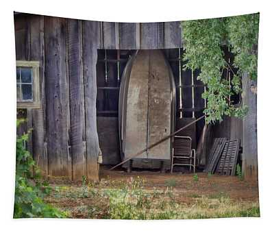 Countryside Barn Tapestry