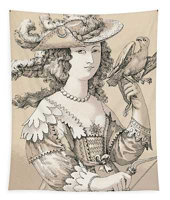 French Seventeenth Century Costume Tapestry