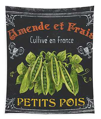 French Vegetables 2 Tapestry