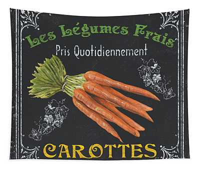 Carrots Wall Tapestries