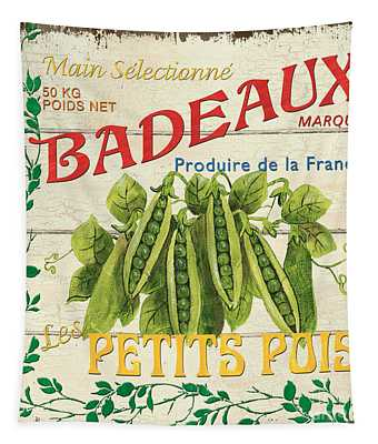 French Veggie Sign 1 Tapestry
