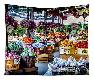 Fresh Market Tapestry