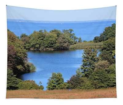 Fresh Pond At Caumsett Tapestry