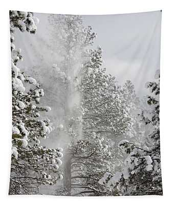 Fresh Snow Tapestry