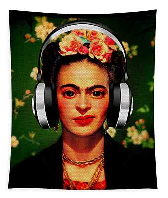Frida Jams Tapestry