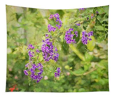 Frilly Purples Tapestry