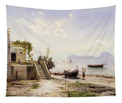 From Sorrento Towards Capri Tapestry